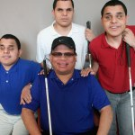 """I didn't know that there were other blind people except me and my brothers."""