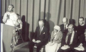 U.N. 1975 with Sri Chinmoy mother Theresa et al