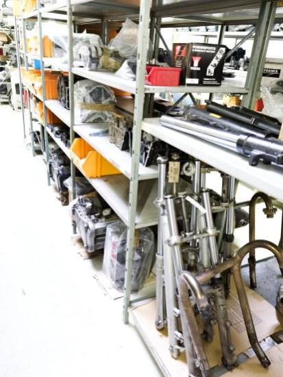Lager Gabel, Motoren, Gebrauchtteile