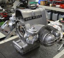 BMW R90/6 Motor komplett neu aufgebaut
