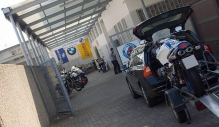 BMW R1100S Transport