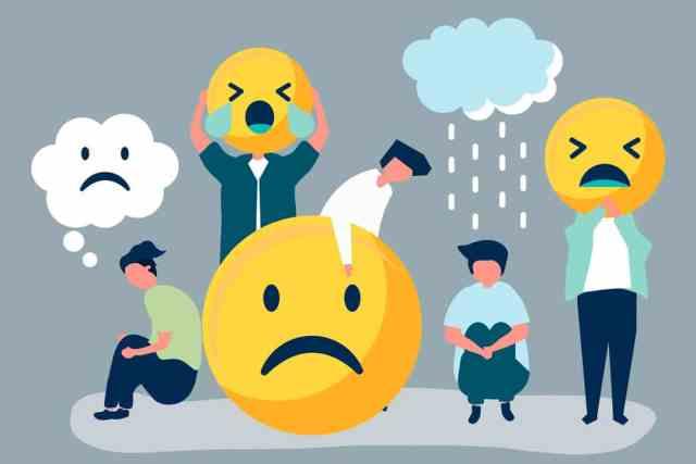 cele mai comune moduri de a controla emotiile negative, emotii negative