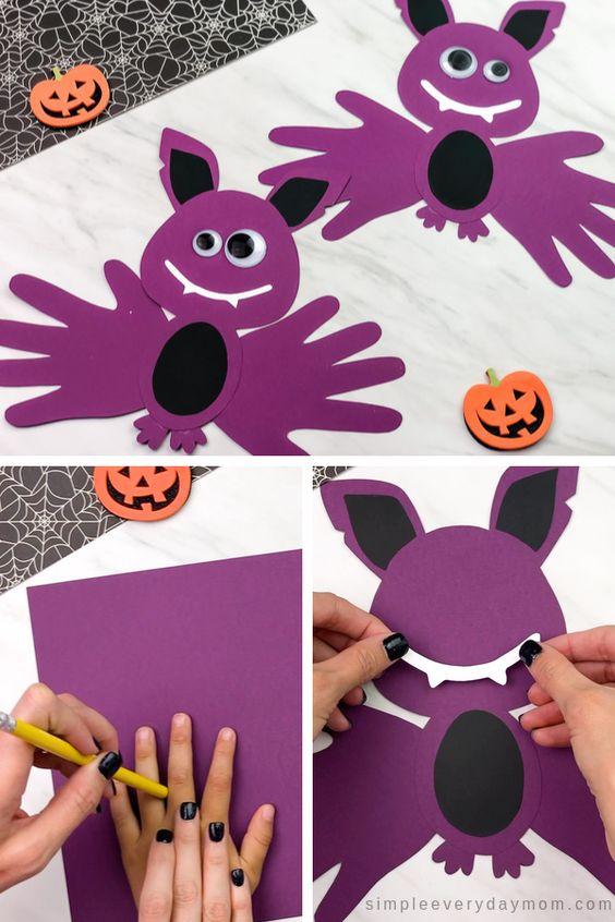 idei decoratiuni de halloween de realizat cu copiii
