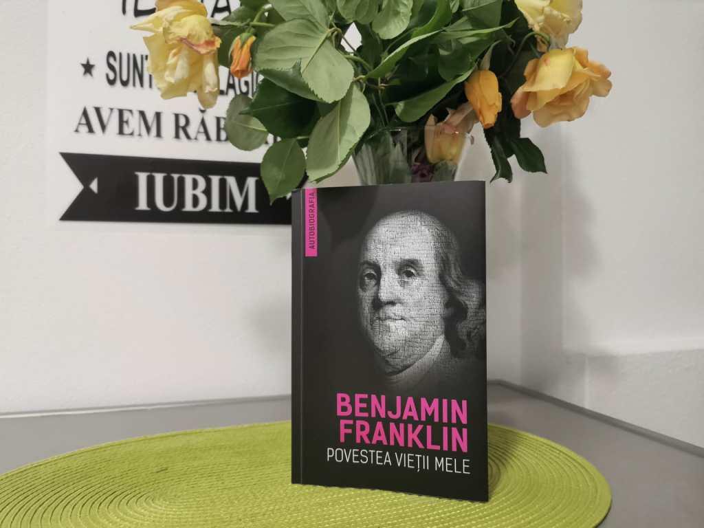 biografie benjamin franklin carte