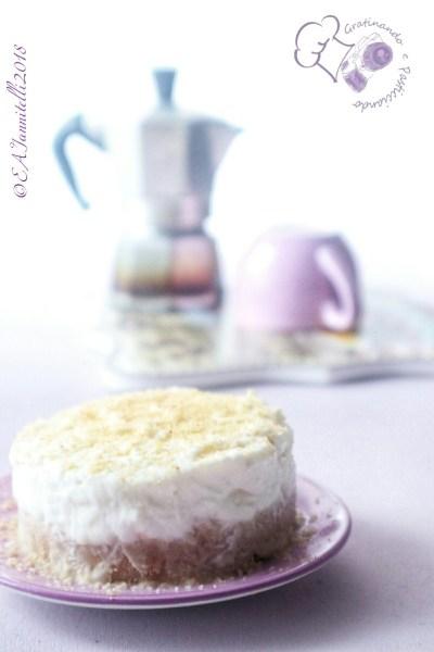 mini cheesecake cocco e nocciole