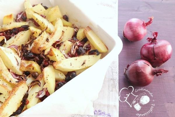 patate con pomodorini secchi