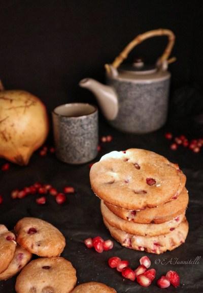 biscotti alla melagrana facili e veloci