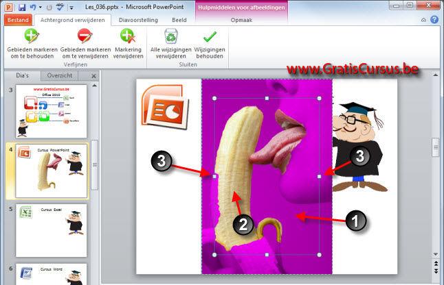 cursus PowerPoint 2010  Afbeeldingen 2
