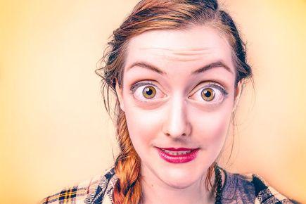 Bright Large Eyes Free Photo