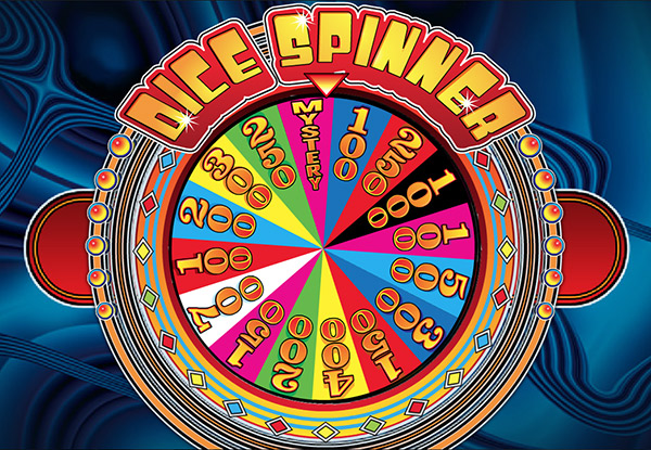dice spinner casino skill game