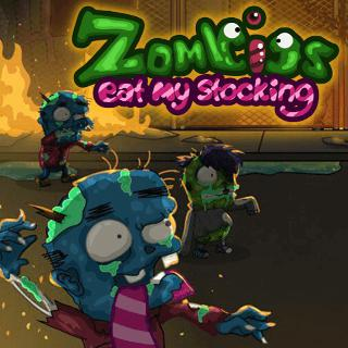 Zombies Eat My Stocking