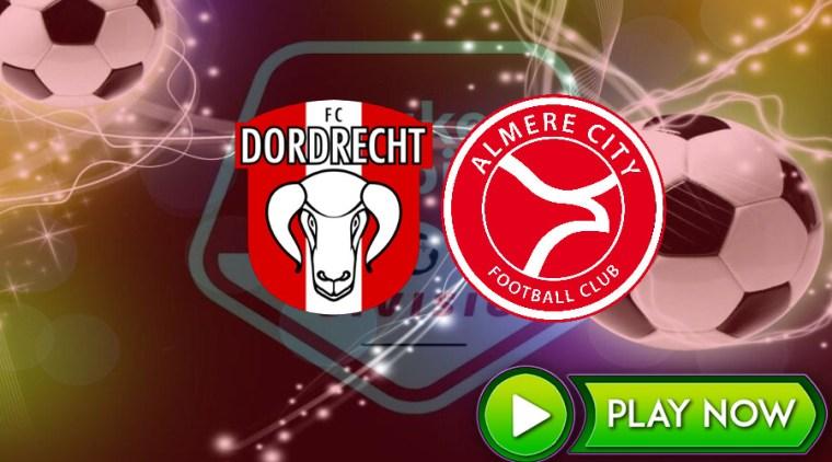 Livestream FC Dordrecht - Almere City FC