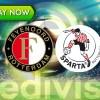 Livestream Feyenoord - Sparta