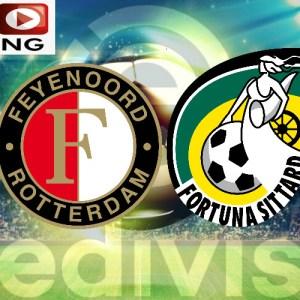 Eredivisie livestream Feyenoord - Fortuna Sittard