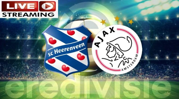 Eredivisie livestream SC Heerenveen - Ajax gratis