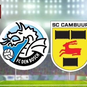 FC Den Bosch - SC Cambuur voetbal livestream
