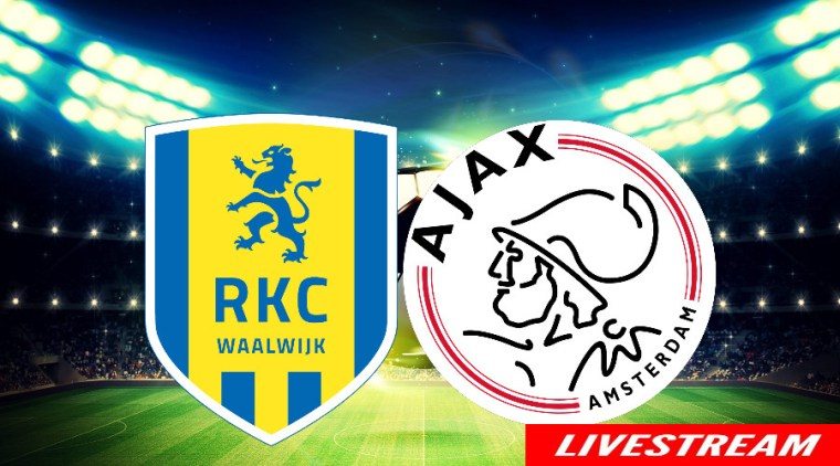 Voetbal livestream RKC - Ajax
