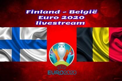 EK Voetbal live stream Finland - België