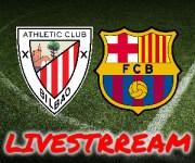 Gratis livestream Athletic Bilbao - FC Barcelona