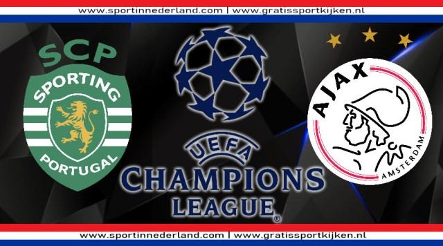 Kijk Sporting Portugal - Ajax via een livestream online