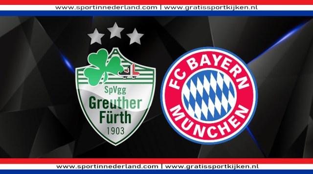 Livestream Greuther Fürth - FC Bayern München