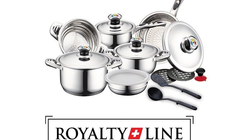 16-delige Royalty line luxe pannenset
