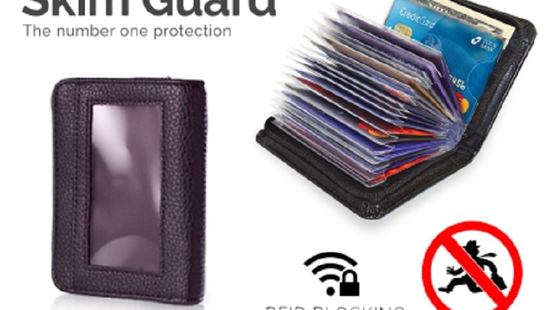 Anti skim wallet-1 piece