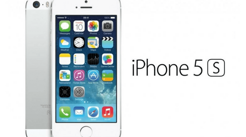 iPhone 5S Silver 16GB - Refurb. B Grade