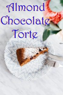 ALMOND CHOCOLATE TORTE