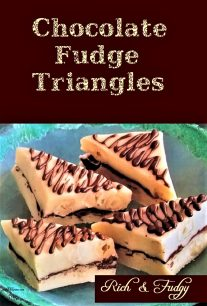 Chocolate Fudge Triangles