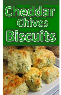 CHEDDAR CHIVES BISCUITS
