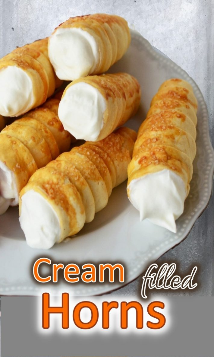 CREAM FILLED HORNS
