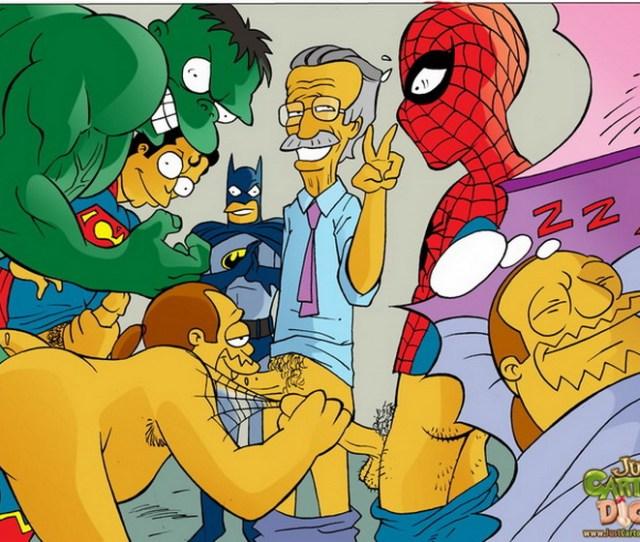 Just Cartoon S Simpsons Dick Gay
