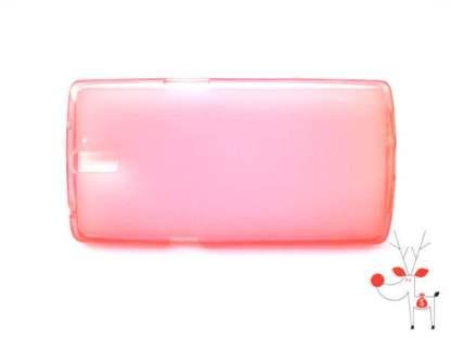 Carcasa protectie silicon OnePlus One, husa spate de telefon
