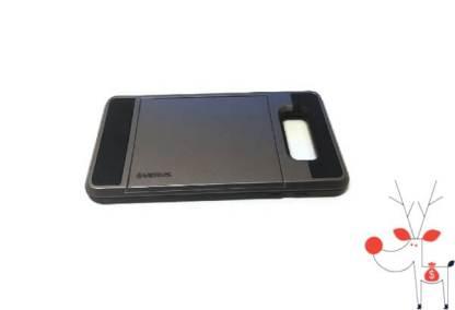Carcasa protectie premium telefon Samsung Galaxy A7 (2017), model suport portcard