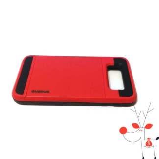 Carcasa protectie premium telefon Samsung Galaxy E5, model suport portcard