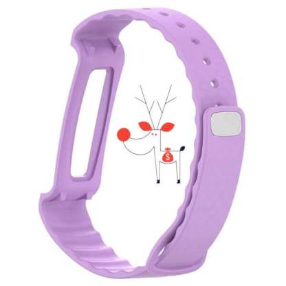 Curea fitness smartwatch Huawei A2, bratara silicon, mov