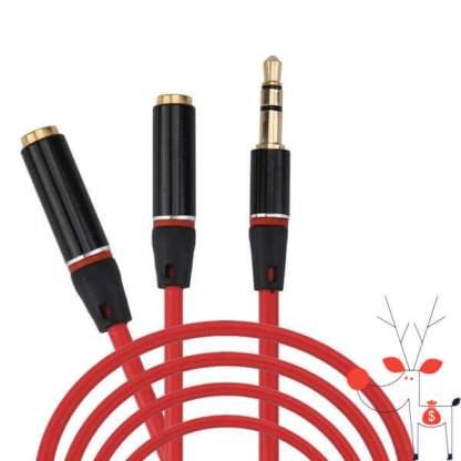 cablu-adaptor-splitter-audio-stereo-jack