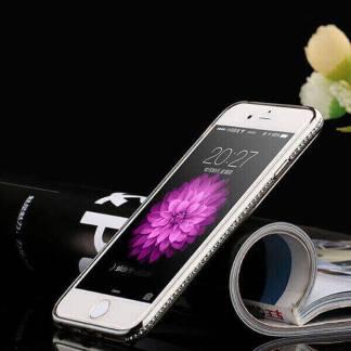 Carcasa bling cu pietre diamant, Apple iPhone 6 6s Plus, 5.5 inch