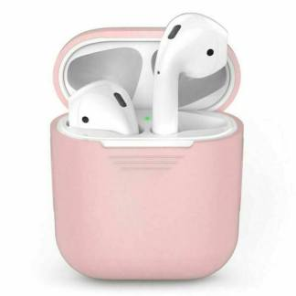 Carcasa protectie silicon Apple Airpods
