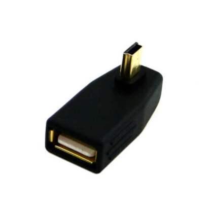 Adaptor OTG mini USB 5 pini la mufa USB 2.0