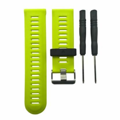 Curea de schimb Garmin Fenix 3, bratara silicon, verde forforescent