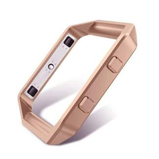 Rama metalica protectie Fitbit Blaze, carcasa tip bumper aluminiu