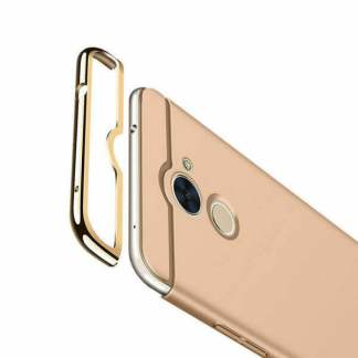 Carcasa electroplacata Huawei Y7 2017, husa slim protectie spate