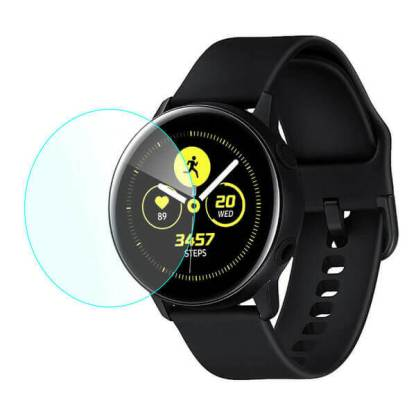 Folie sticla Samsung Galaxy Watch Active, Tempered Glass, protectie ecran