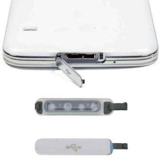 Capac incarcare usb Samsung Galaxy S5, dop mufa port protectie telefon