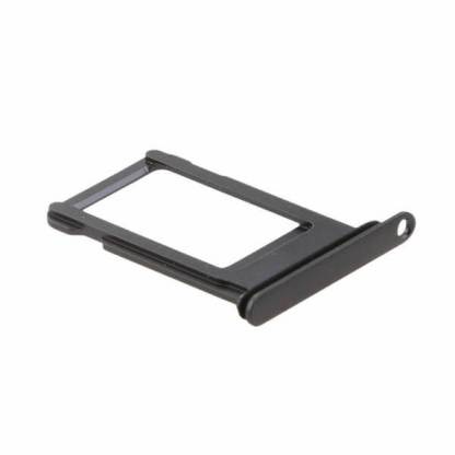 Suport sertar cartela sim iPhone 8, cheita, ac deschidere slot sim, negru