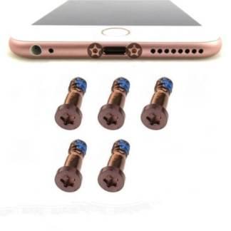 Set 2 suruburi Pentalobe iPhone 6S, 6S Plus, de rezerva sau schimb pentru telefon