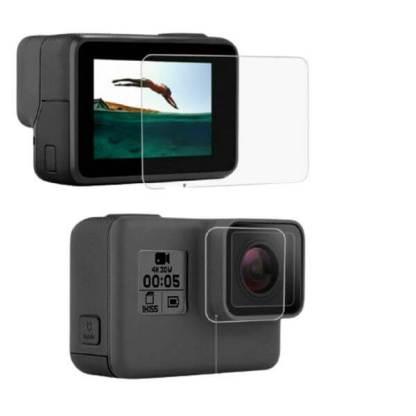 Folie-protectie-sticla-GoPro-HERO-7-Tempered-Glass-protectie-ecran-display-camera-video