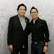 """Robert Kiyosaki Penulis Bestseller Internasional dari """"Rich Dad Poor Dad"""", Bertemu dengan Coach Yohanes G. Pauly"""